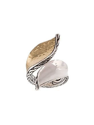 John Hardy Wave Hammered Bypass ring - Silver