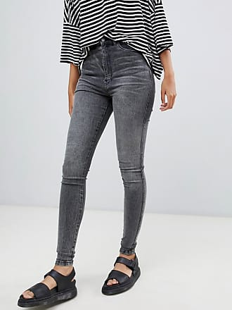 Dr. Denim moxy sky high skinny jean - Gray