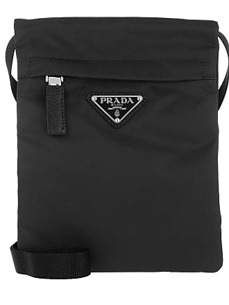 232d553077981 Prada Technial Fabric Shoulder Bag Black Umhängetasche schwarz