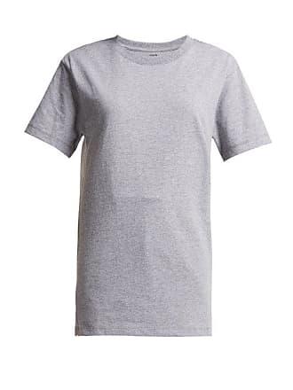 Hanes x Karla Hanes X Karla - The Classic Cotton Jersey T Shirt - Womens - Grey