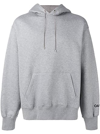 OAMC back embroidered hoodie - Cinza
