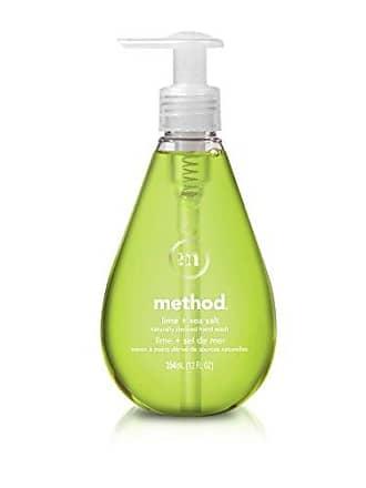 Method Gel Hand Soap, Lime + Sea Salt, 12 Ounce (6 Count)