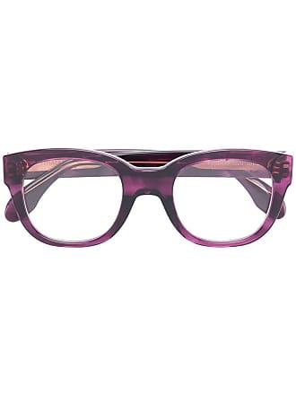 Emmanuelle Khanh square frame glasses - Roxo