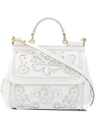 Dolce & Gabbana Bolsa tote Sicily - Branco