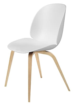 GUBI Beetle Dining Chair Un-Upholstered Oak Base