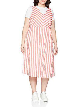 1c2ed8f1a04c18 Junarose Dames jurk jragnes SL MIDI Dress-K - met décolleté 48