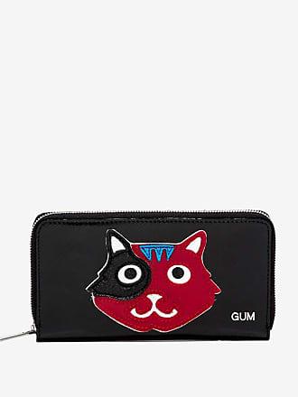 gum large wallet animals cat