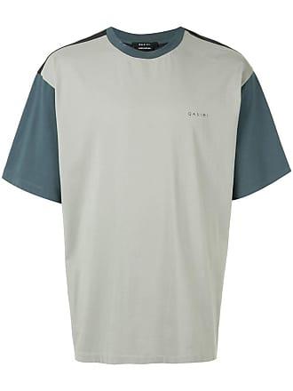 Qasimi Camiseta color block - Verde