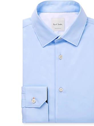 Paul Smith Light-blue Cotton-poplin Shirt - Blue