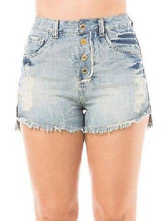 Eventual Short Jeans Feminino Hot Pant Cintura Alta Evt Eventual