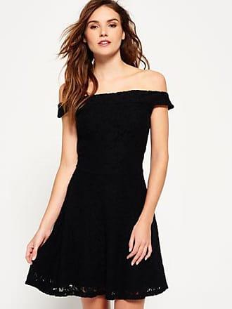 Kleid mittellang schwarz
