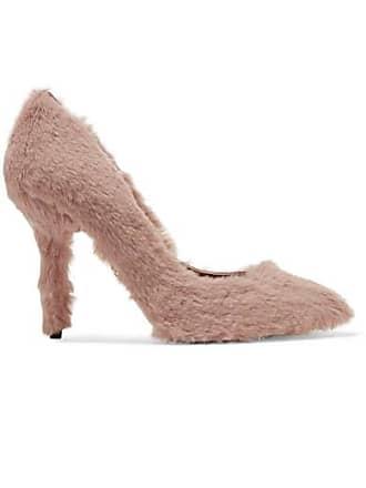 987fe5876843ff Dolce & Gabbana Escarpins En Fourrure Synthétique - Rose pâle