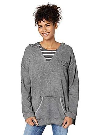 Rip Curl Juniors Shine Down Pullover, Dark Grey/DGY L