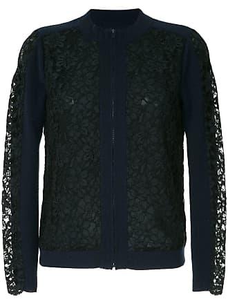 Onefifteen Suéter com renda - Azul