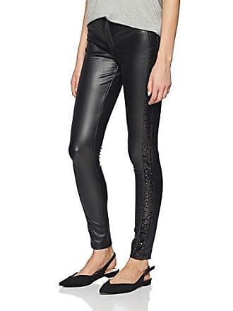 aa358068938f Faux Leather Pants Otw Pantaloni, Nero Black, W27 (Taglia