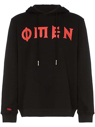 032c cosmic workshop omen hoodie - Black