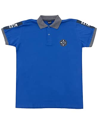 Brandili Camisa Polo Brandili Menino Liso Azul