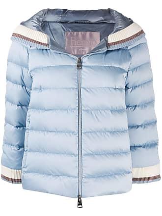Herno hooded padded jacket - Blue