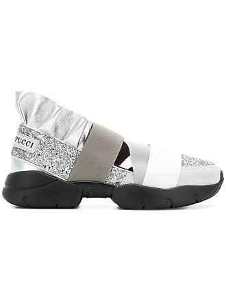 Emilio Pucci City Up slip-on sneakers - Metallic