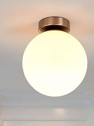 Lindby Lámpara de techo Lennie redonda para baños