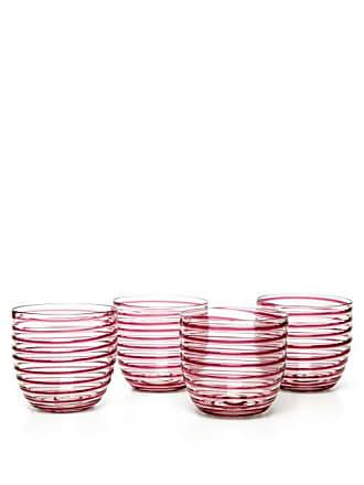 Yali Glass Set Of Four Goto Tumblers - Purple