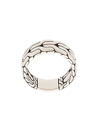 John Hardy Silver Classic Chain Band Ring