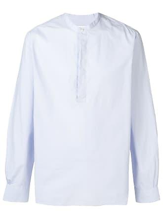 Officine Generale round neck shirt - Azul