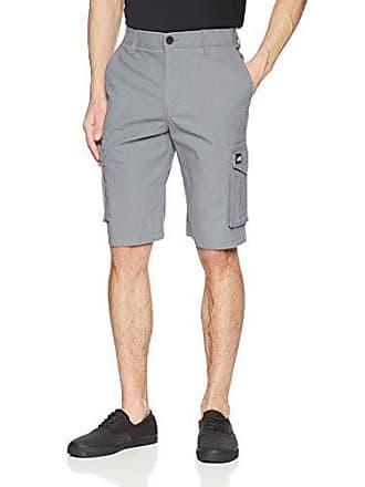 Zoo York Mens Commander Cargo Shorts, General Dover Grey, 30