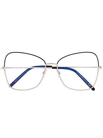 Tom Ford Eyewear square-framed glasses - Black