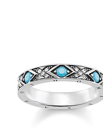 Thomas Sabo Thomas Sabo ring turquoise TR2162-347-17-56