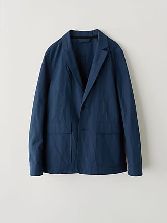 Acne Studios FN-MN-SUIT000026 Dark Blue Soft blazer jacket