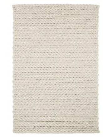 GAN Rugs Teppich Trenzas Ivory rug