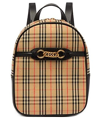 32be9b5c1556 Burberry 1983 Check Canvas Backpack - Womens - Black Multi