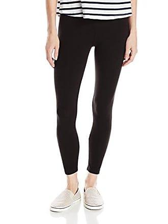 Joan Vass Womens Classic Cropped Legging, Black 2