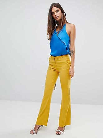 Y.A.S Boot Flare PANTS - Yellow