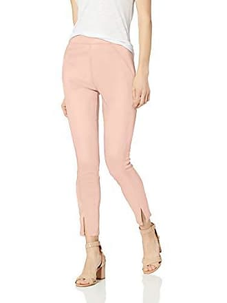 Hue Womens Sateen High Waist Skimmer Leggings, Barely Pink, XS