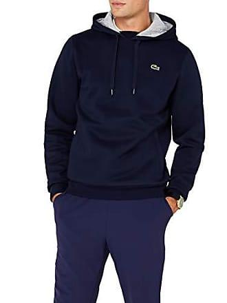 e7ac01655b Lacoste Sport - Sweat-shirt à Capuche Homme - Multicolore (Marine/Argent  Chine