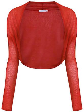 Mara Mac knitted bolero - Red