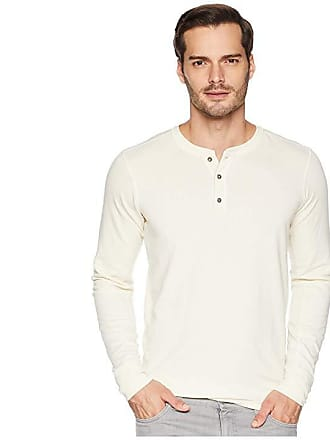1b26d36b4a2d The North Face Long Sleeve TNF Terry Henley (Vintage White Heather) Mens  Long Sleeve