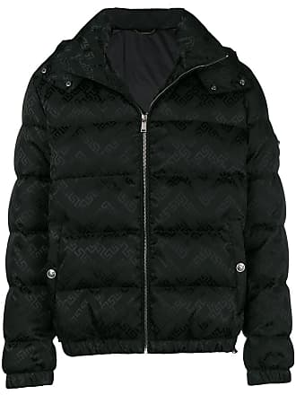 72656992eeba Versace Greek Key print puffer jacket - Black