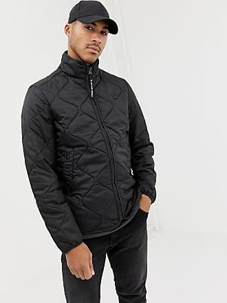 G-Star Edla - svart quiltad jacka i ripstop-material - Dk svart d99589b0749a6