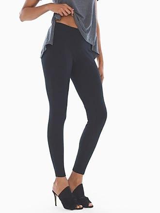 Soma Style Essentials Smoothing Ponte Leggings, Black, Size XXL
