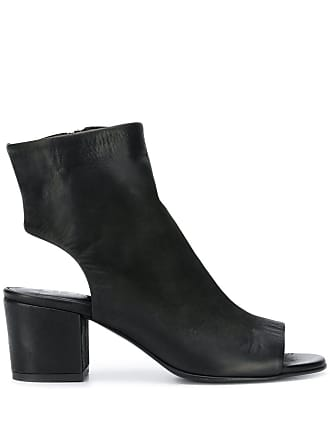 Strategia cut-out ankle boots - Black