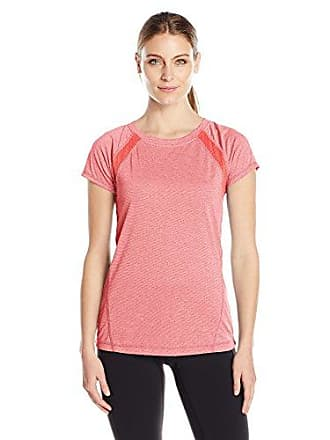 Jockey Womens Transcend Jersey Tee, Tropical Coral, M