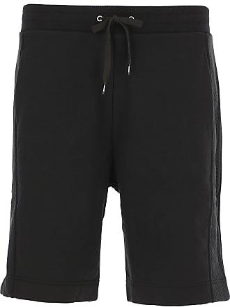 6be8256ab09a Moschino Pantaloncini Shorts Uomo On Sale, Nero, Cotone, 2017, L M