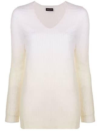 Roberto Collina gradient effect jumper - White