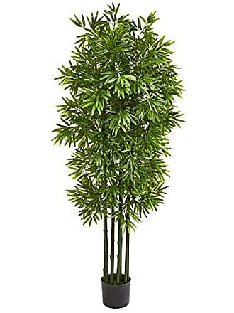 Nearly Natural 9146 64 Bamboo Artificial Green Trunks UV Resistant (Indoor/Outdoor) Silk Trees