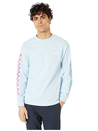 2e78a6c9 Vans Checkwork Long Sleeve T-Shirt (Powder Blue) Mens T Shirt