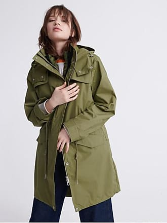 Superdry Long Sleeve Essentials Parka Coat