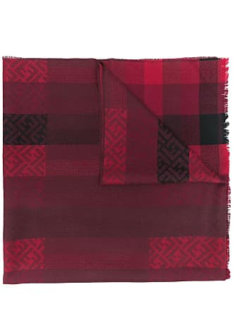 Fendi FF monogram scarf - Vermelho